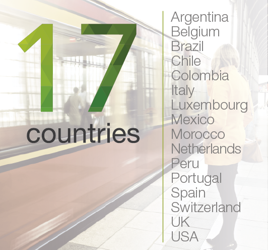 everis in 16 countries