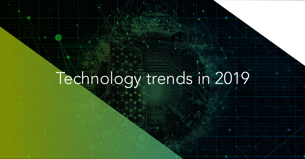 Banner Technology Trends 2019