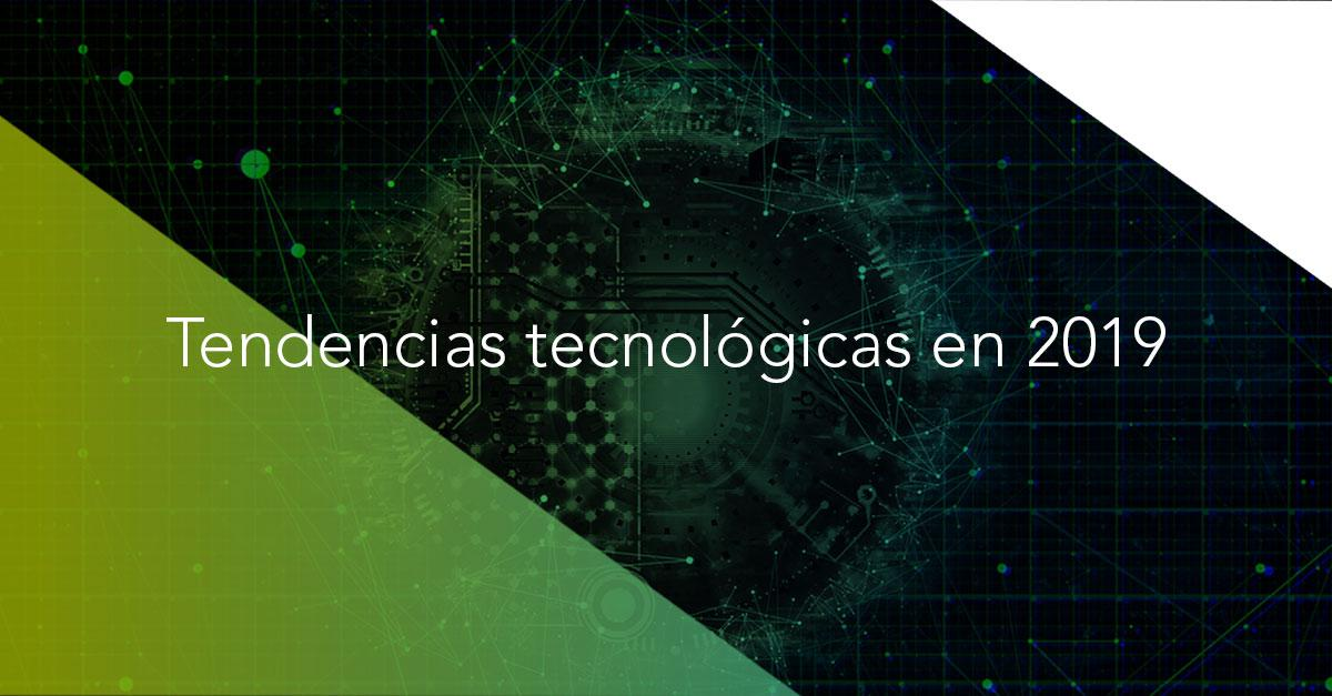Banner tendencias tecnológicas 2019